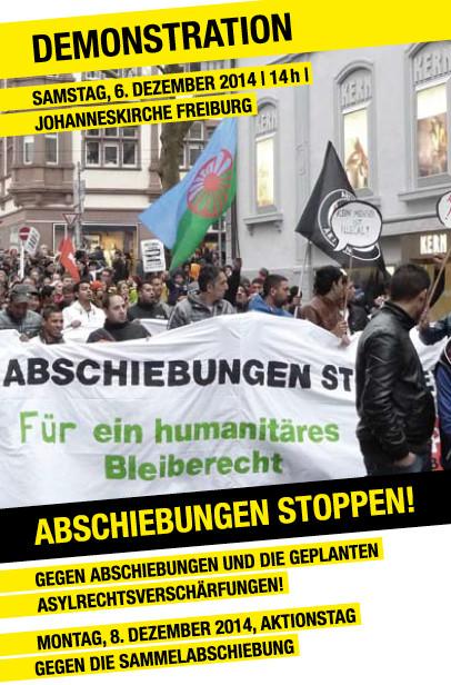 Demo und Aktionstage Abschiebungen stoppen in Freiburg